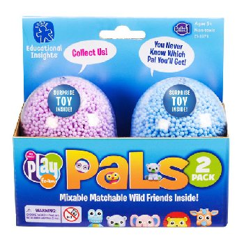 Playfoam Pals Mixable Matchable Wild Friends 2-Pack