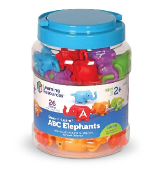 Snap-n-Learn ABC Elephants