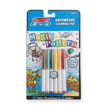Magic-Pattern Coloring Pad On the Go Adventure