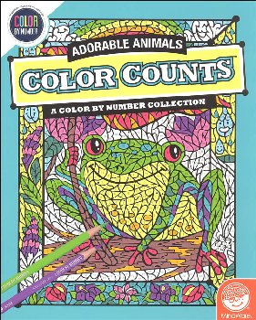 Color Counts - Adorable Animals