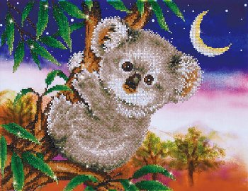 Koala Snack Diamond Dotz Kit (Intermediate)