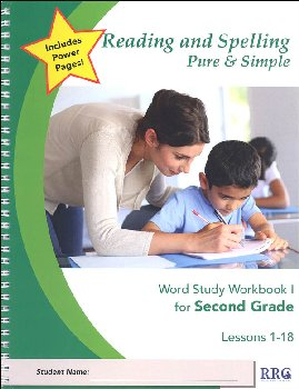 Rdg & Spl Pure & Simple 2nd Gr Wrd Stdy Wkb 1