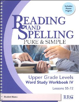 Word Study Workbook IV - Upper Grade Levels (Lessons 55-72)