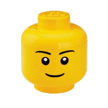 LEGO Iconic Storage Head Large (boy or girl)