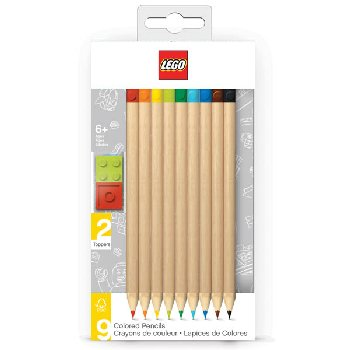 LEGO Colored Pencils (9 pack) | LEGO / Santoki