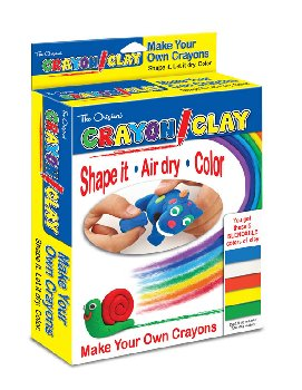 Crayon Clay Make Your Own Crayons - 25g Each Color
