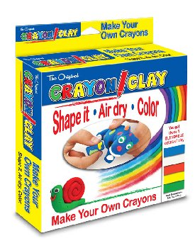 Crayon Clay Make Your Own Crayons - 50g Each Color