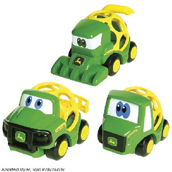 Oball Go Grippers John Deere Farm Vehicles - Pack of 3