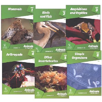 Animals for Beginners Student Workbook (God's Design for Life for Beginners)