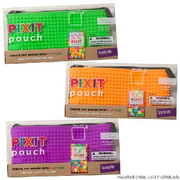 Pixit Pencil Pouch (assorted colors)
