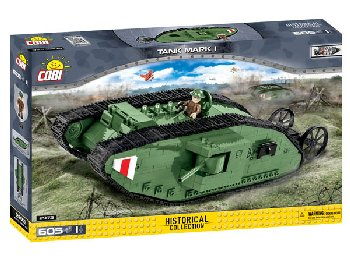 Mark I Tank - 600 pieces (Military Small Army)