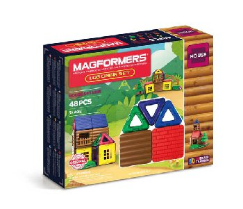 Magformers - Log Cabin 48 Piece Set