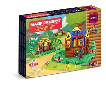 Magformers - Log House 87 Piece Set