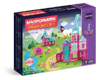 Magformers - Princess Castle 78 Piece Set