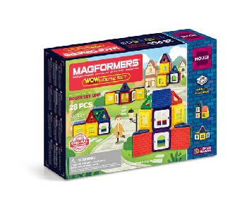 Magformers - Wow House 28 Piece Set