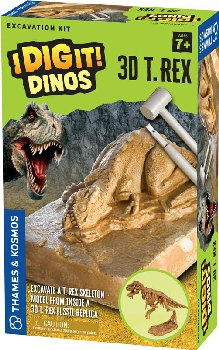 3D T. Rex Excavation (I Dig It! Dinos)