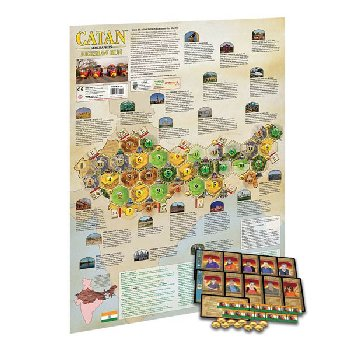 Catan Geographies: Rickshaw Run Game