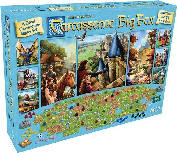 Carcassonne Big Box Game 2017