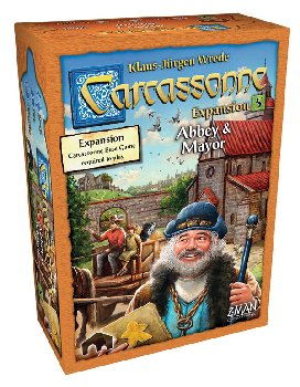 Carcassonne: Abbey & Mayor Expansion #5