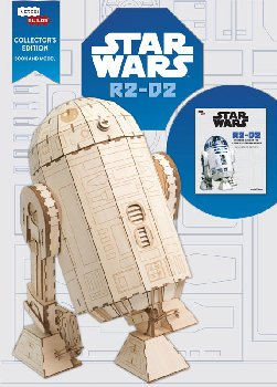 Star Wars R2-D2 Collectible 3D Wood Model and Book