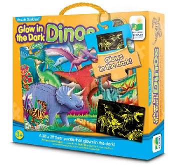 Puzzle Doubles! Glow in the Dark! Dinos