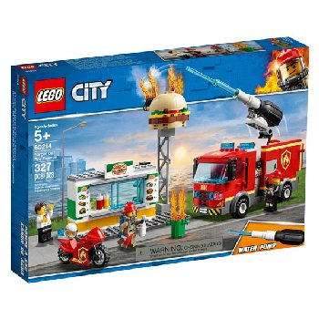 LEGO City Fire Burger Bar Fire Rescue (60214)