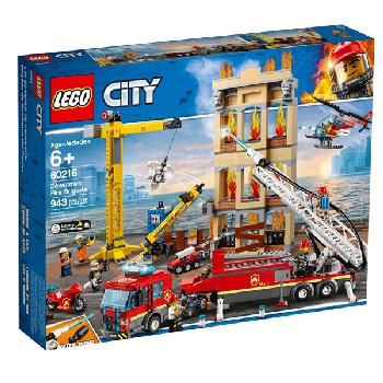 LEGO City Fire Downtown Fire Brigade (60216)