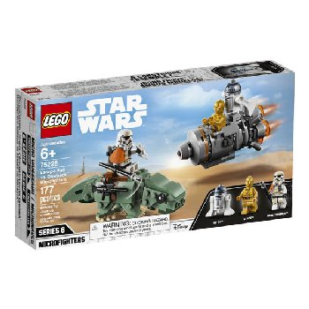 LEGO Star Wars Escape Pod vs. Dewback Microfighters (75228)