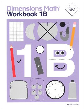 Dimensions Math Workbook 1B