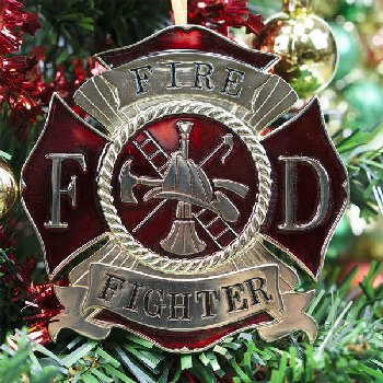 Heroes Series Ornament - Fire Fighter