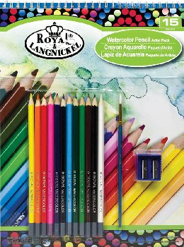 Watercolor Pencil Pad Set
