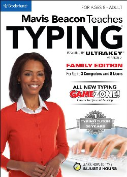 Mavis Beacon Teaches Typing Powered by Ultrakey Family Edition - Download - Windows