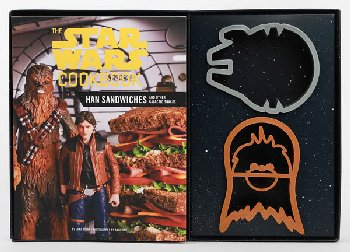 Star Wars Cookbook Han Sandwiches & Other Galactic Snacks
