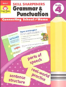 Skill Sharpeners: Grammar & Punctuation - Grade 4