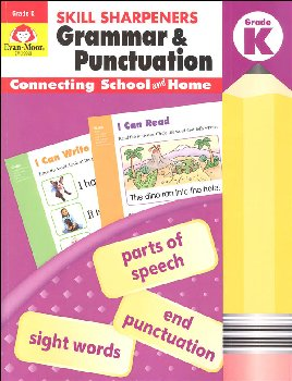 Skill Sharpeners: Grammar & Punctuation - Grade K