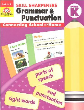 Skill Sharpeners: Grammar & Punctuation - PreK