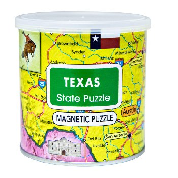 Texas Magnetic Puzzle (100 Piece)