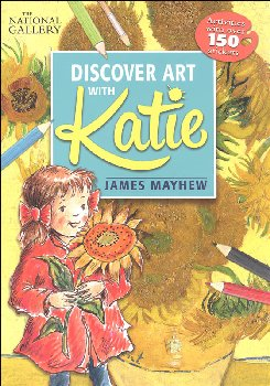 Katie: Discover Art with Katie National Gallery Sticker Activity Book