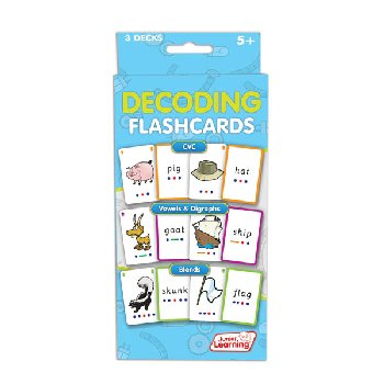 Decoding Flashcards (3 decks)