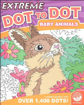 Extreme Dot to Dot Book - Baby Animals
