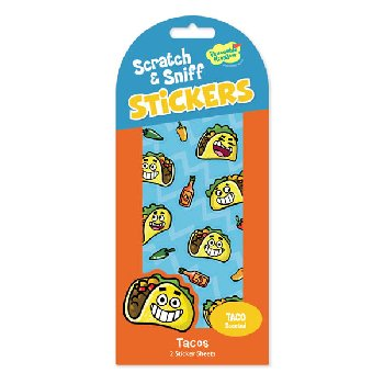 Taco Scratch & Sniff Stickers