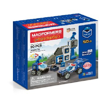 Magformers - Amazing Police (50 piece set)