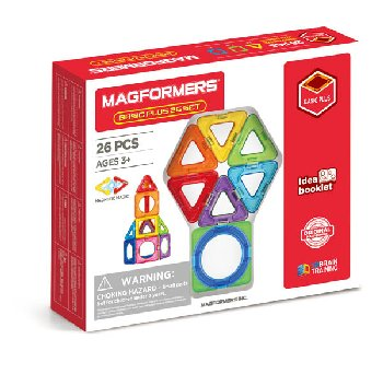 Magformers - Basic Plus 26 Piece Set (Inner Circle)