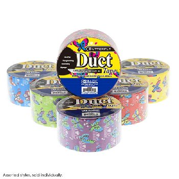 "Butterfly Duct Tape (1.88"" x 5 Yards)"