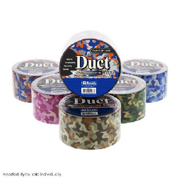 "Camouflage Duct Tape (1.88"" x 5 Yards)"