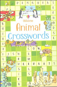 Animal Crosswords (Usborne)