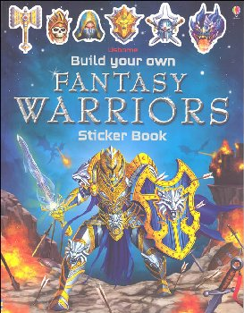 Build Your Own Fantasy Warriors Sticker Book