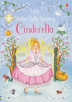 Little Sticker Dolly Dressing - Cinderella (Usborne)
