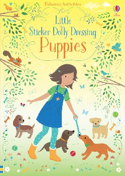 Little Sticker Dolly Dressing - Puppies (Usborne)