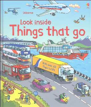 Look Inside Things That Go (Usborne)